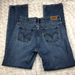 Levi's 505 High-Rise Straight Leg Jeans Size 6